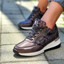 Sneakers donna Laura Biagiotti Brown